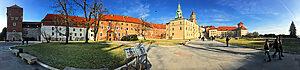 Nádvoří hradu má 7000 m2