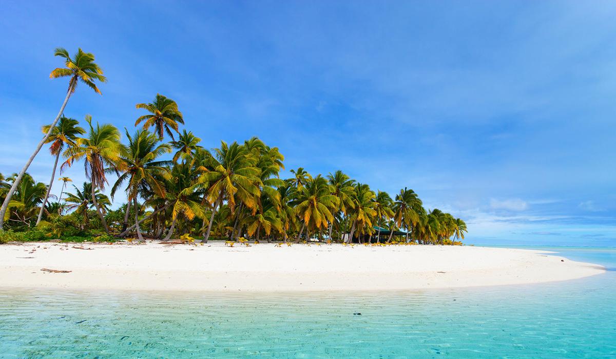 Tropický ostrov Aitutaki, Cookovy ostrovy