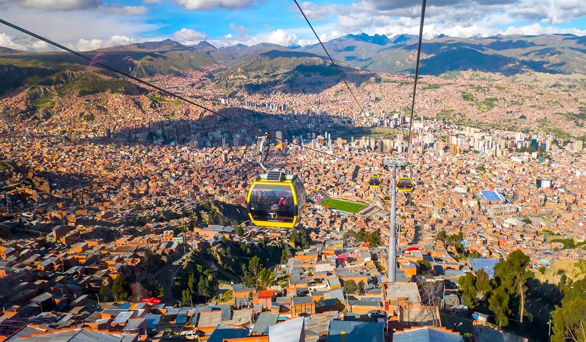 Pohled na La Paz