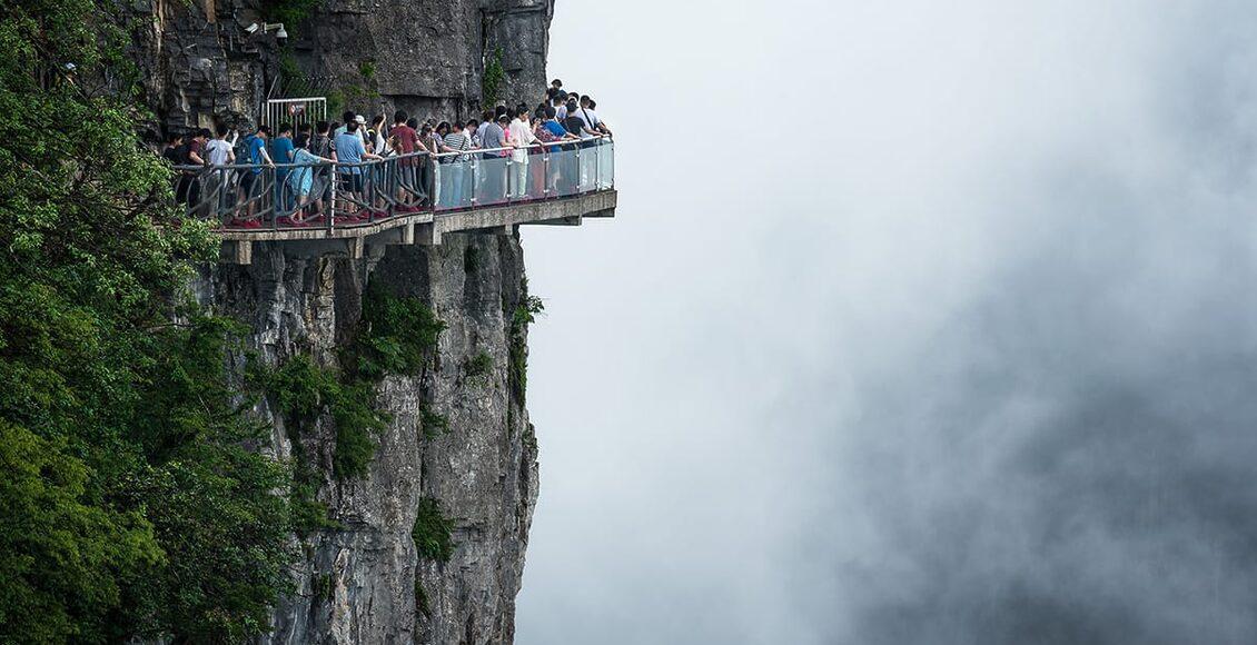 Sleněný chodník Čína
