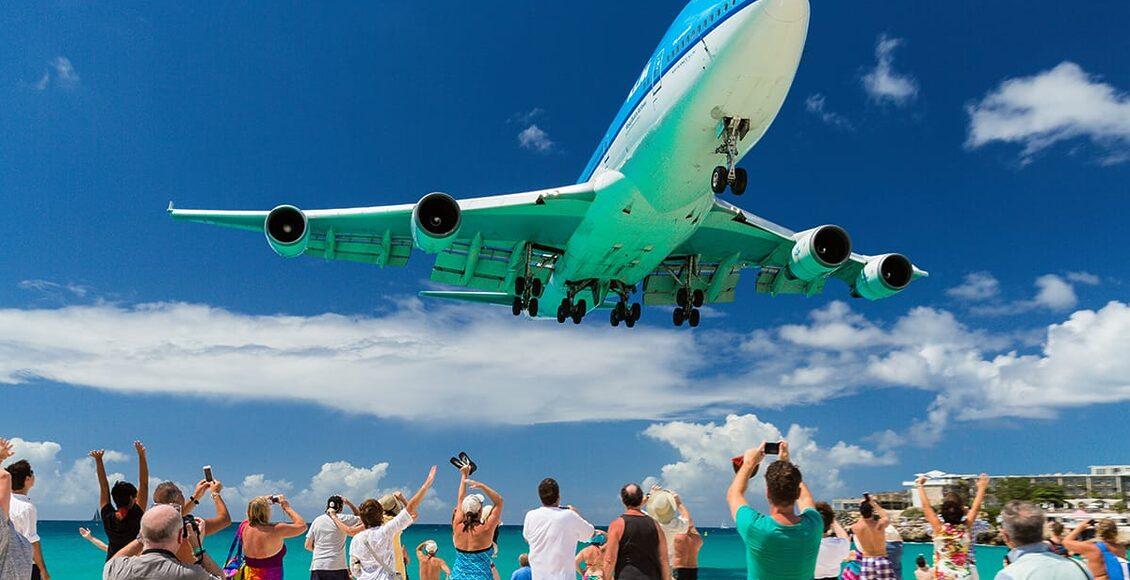 10 letišť - Princess Juliana Internationa Airport