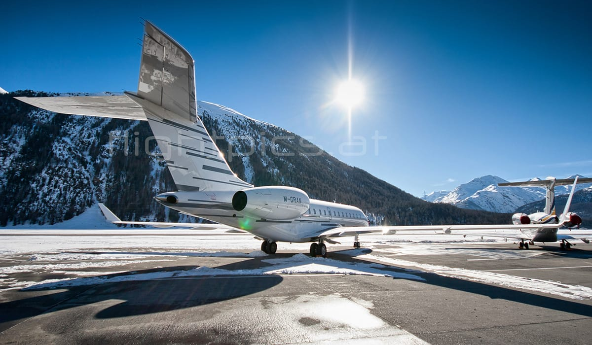 Foto: © Rene Antmann | Švýcarsko – Samedan Airport