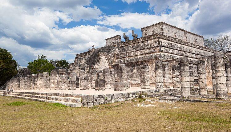 Chrám válečníků - Templo de los Guerreros