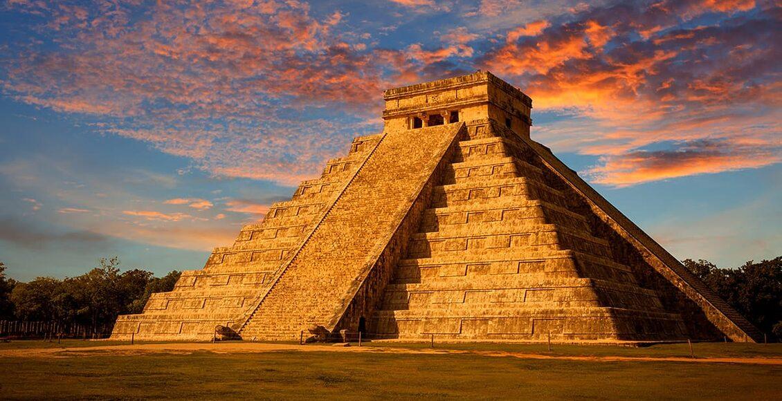 Chichén Itzá na poloostrově Yucatan