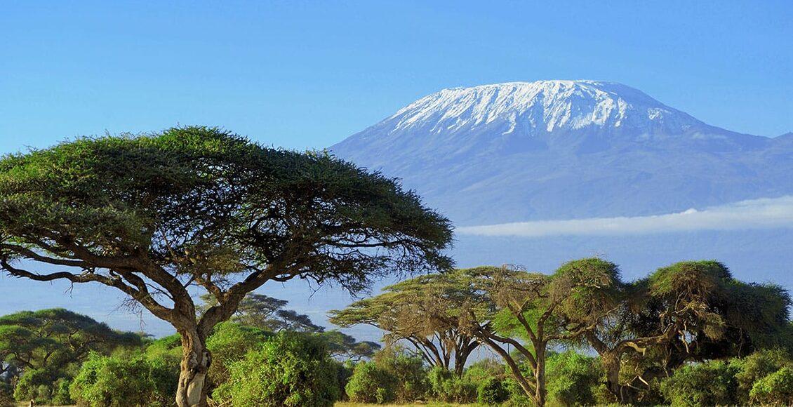 Keňa - NP Amboseli a Kilimandžáro v dálce