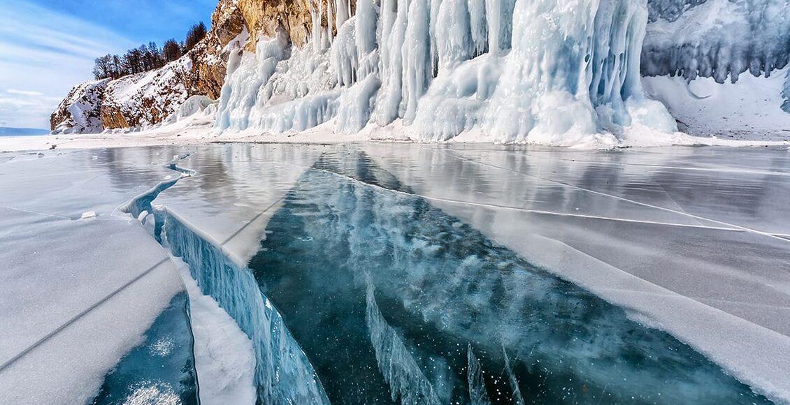 Jezero Bajkal 10 úžasných míst na planetě Zemi