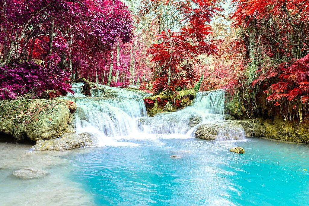 Vodopády Kuang Si 10 úžasných míst na planětě Zemi