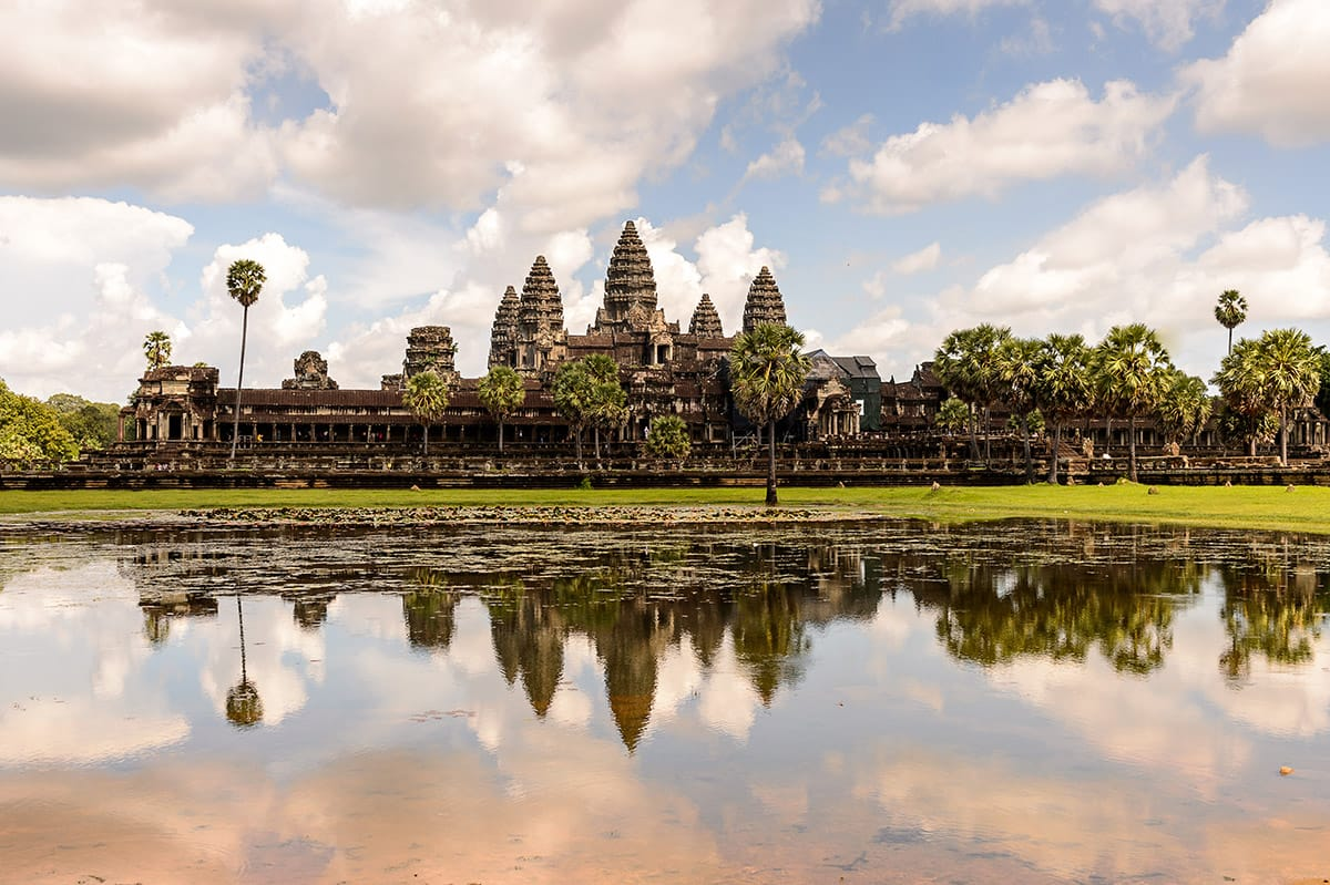 Angkor Vat Kambodža