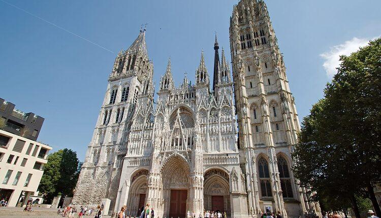 Katedrála Notre-Dame de Rouen - 10 nejvyšších katolických kostelů a katedrál světa