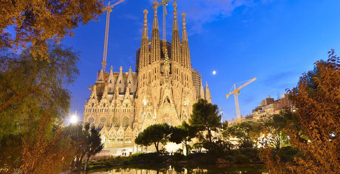 Sagrada Familia Barcelona Antonio Gaudí