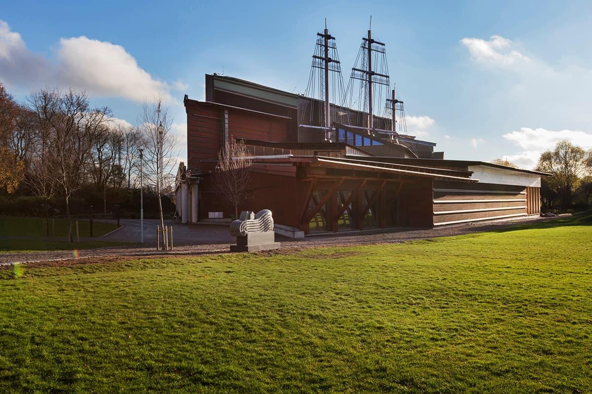 Stockholm - město muzeí - pohled na Vasa muzeum