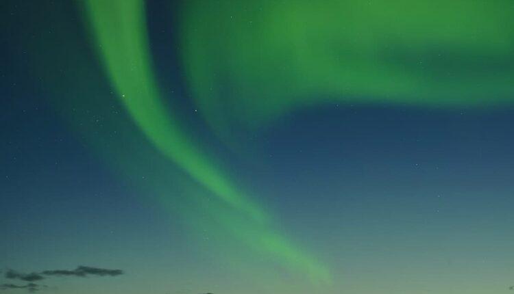 Polární záře nad Tromsø