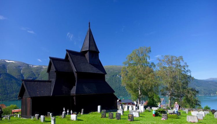 Stavkirke v Urnes