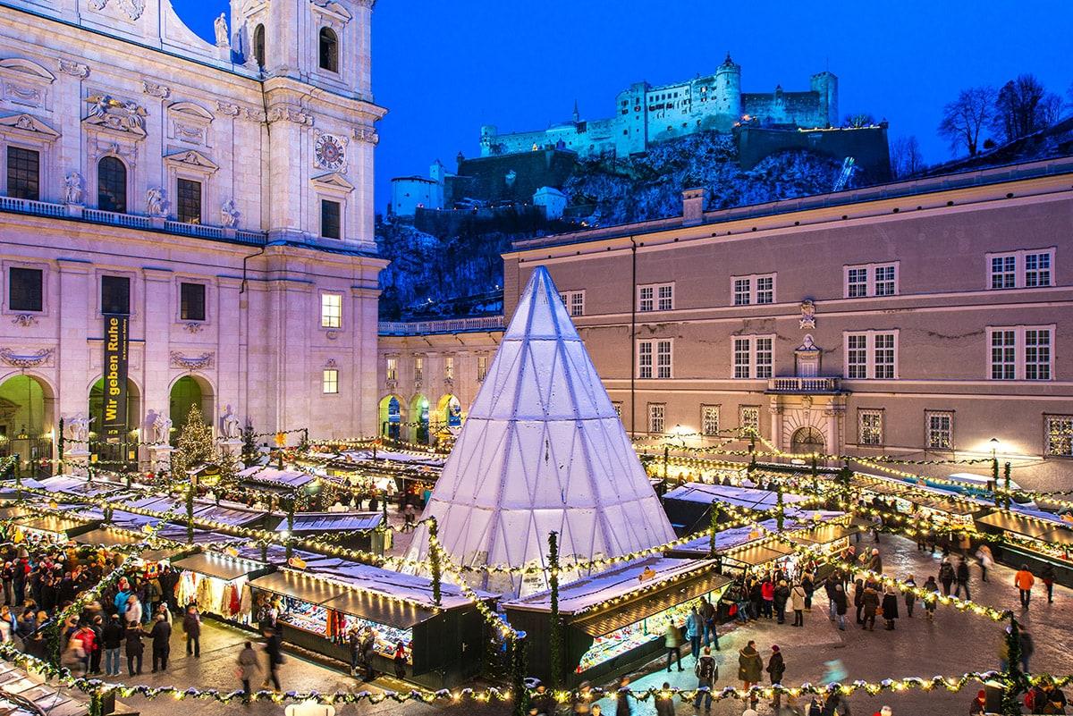 Salzburg Christkindlmarkt 2021