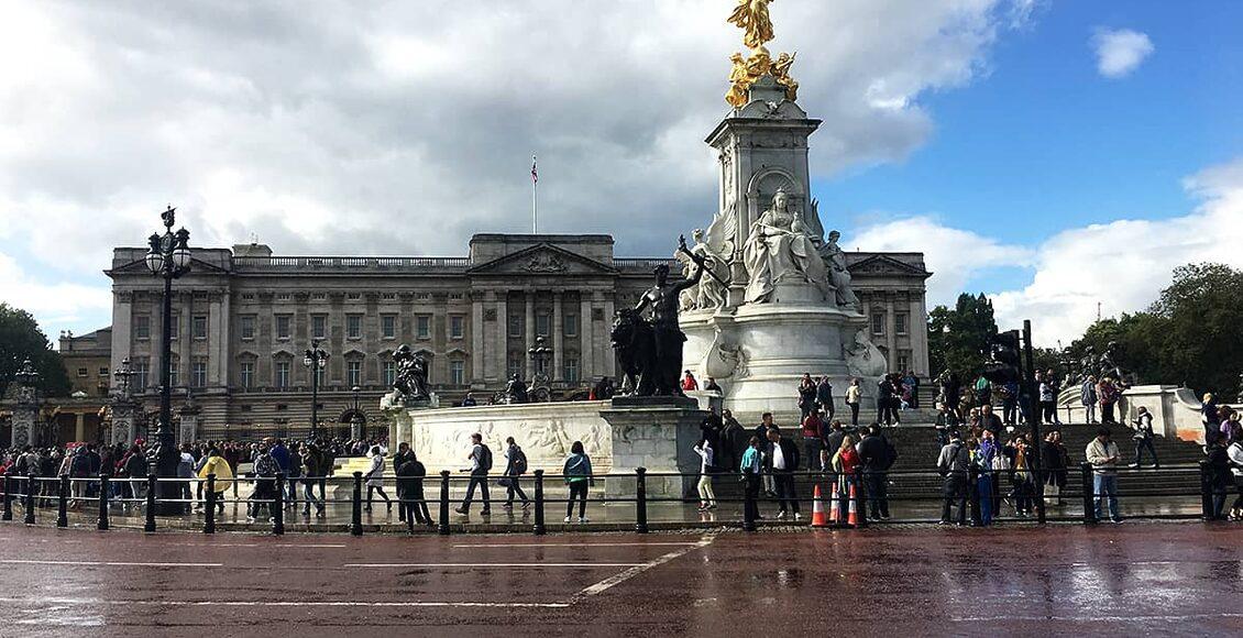 Buckinghamský palác v Londýně