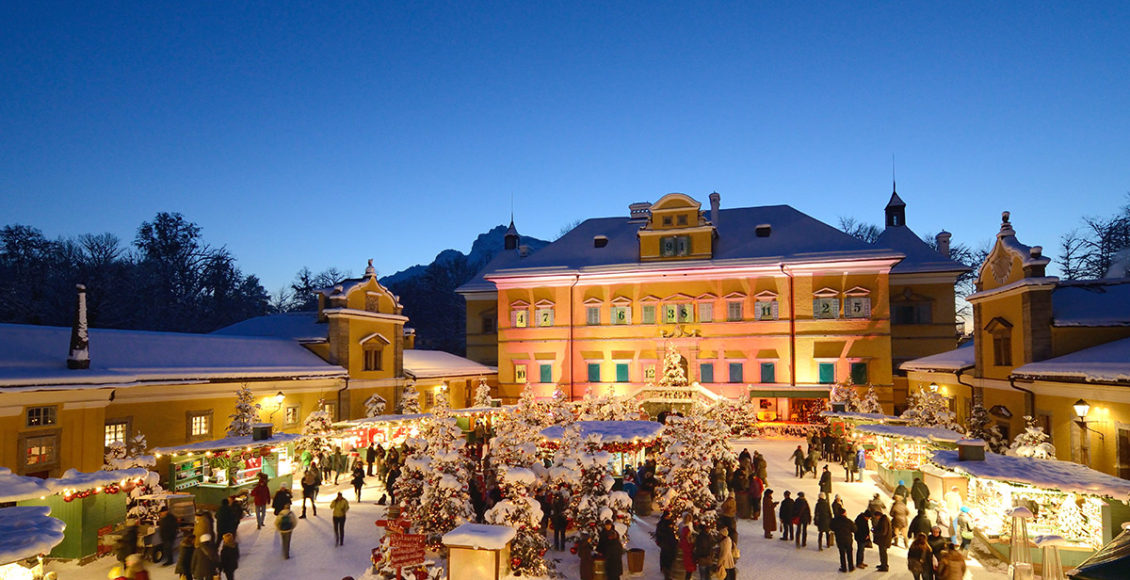 Salzburg Hellbrunn advent