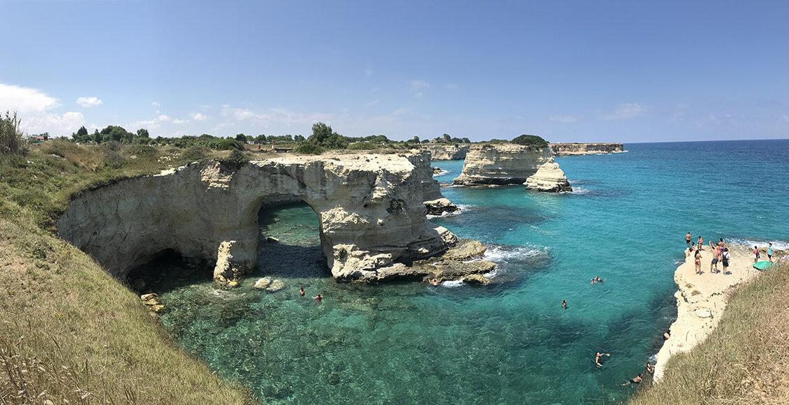 Apulie – evropský Karibik, Torre Sant' Andrea