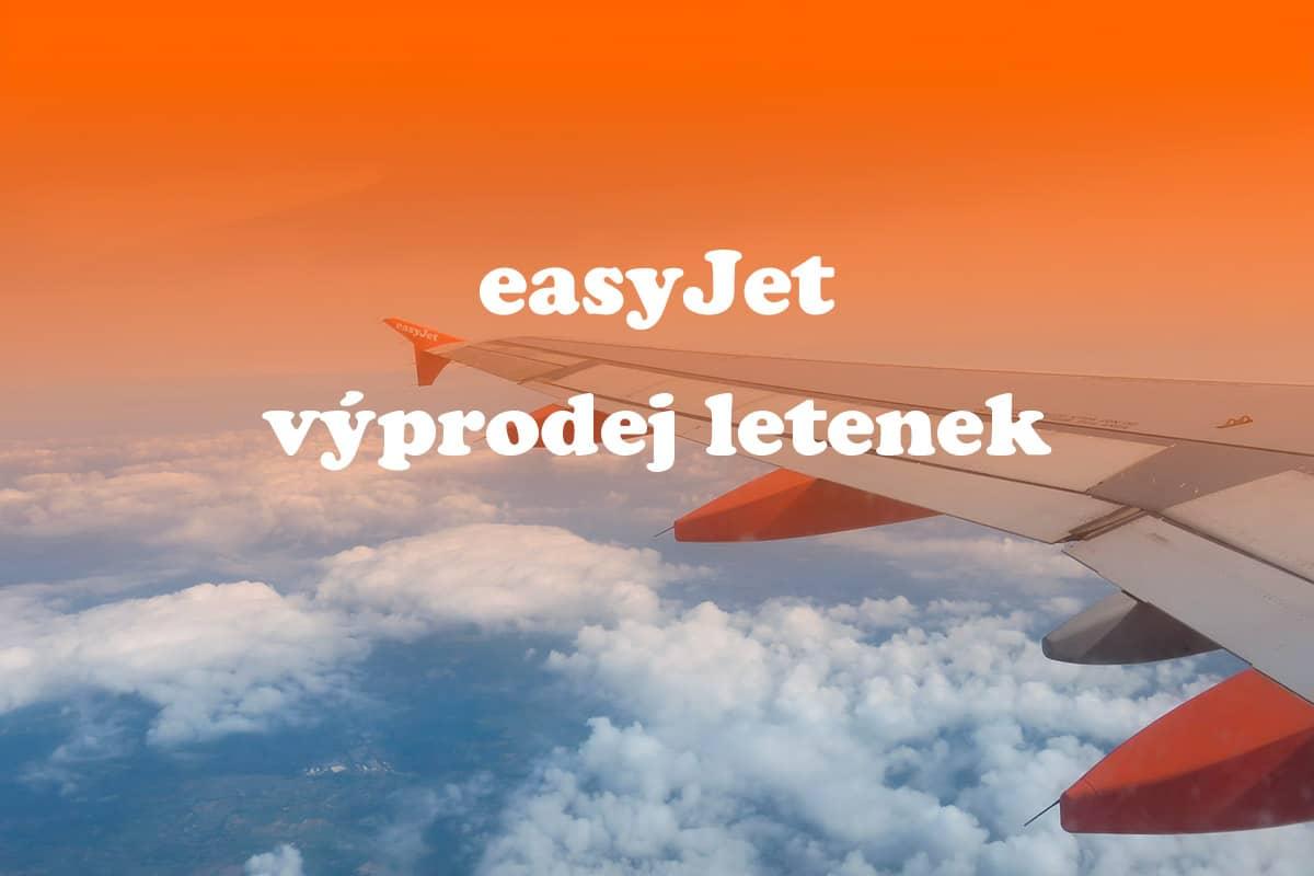 easyjet výprodej letenek