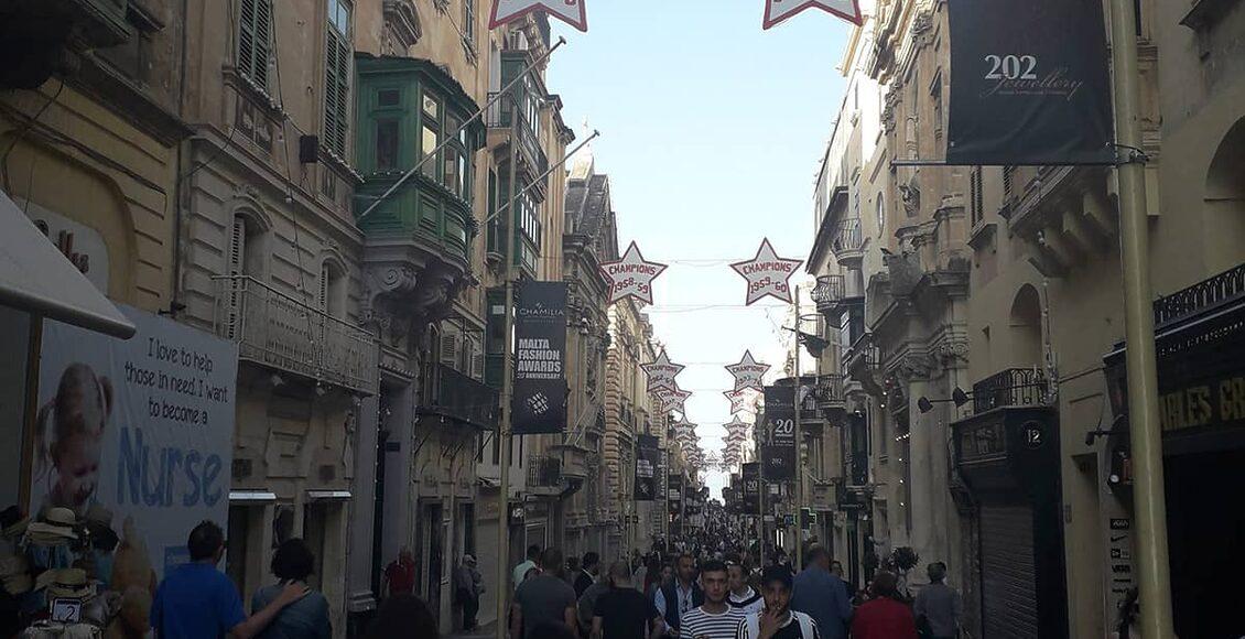 Valletta—hlavn°-ulice