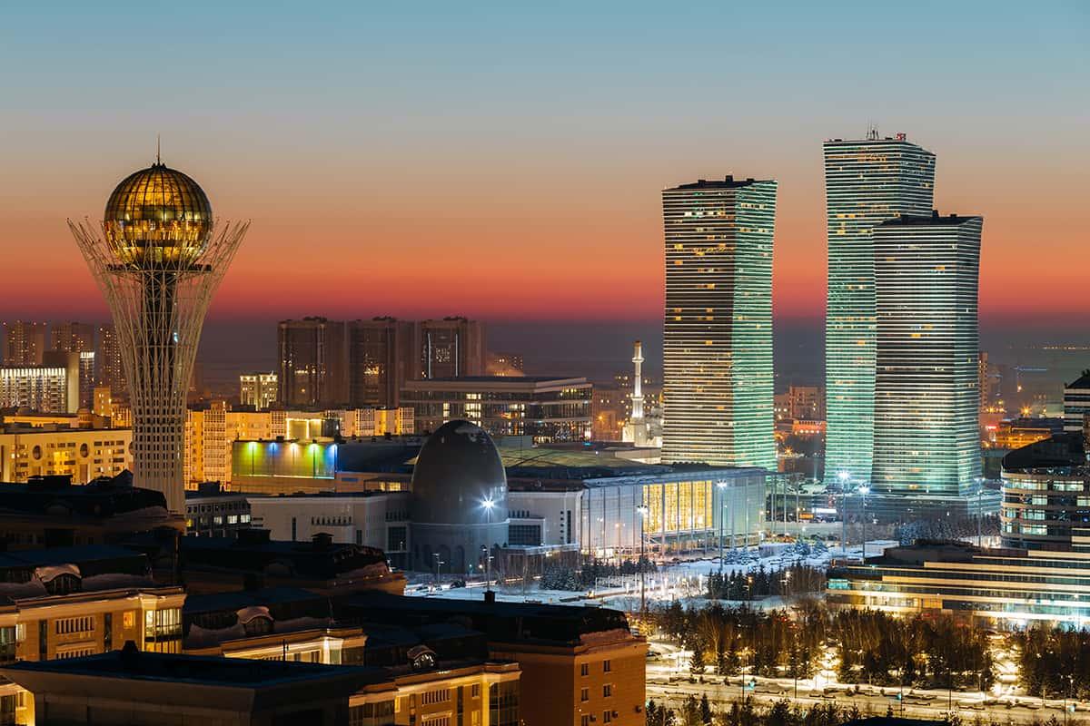 Bayterek Kazachstán Astana
