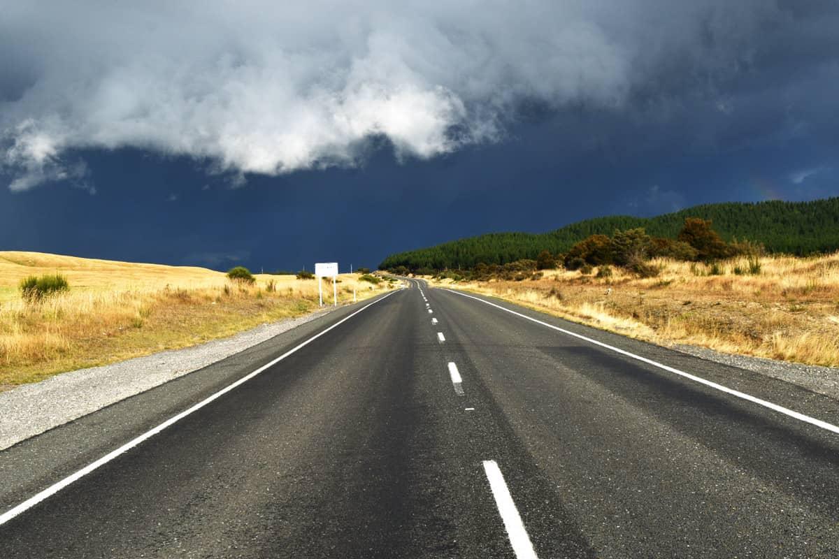 Nový Zéland a silnice do neznáma