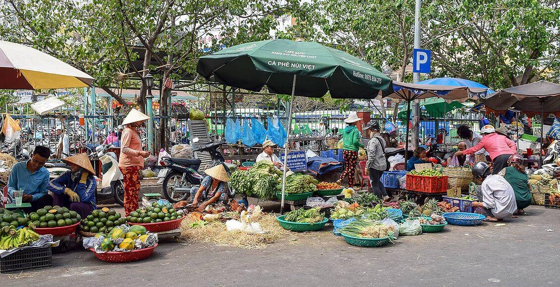 Zajímavosti Ho Či Minova Města - zdejší trhy