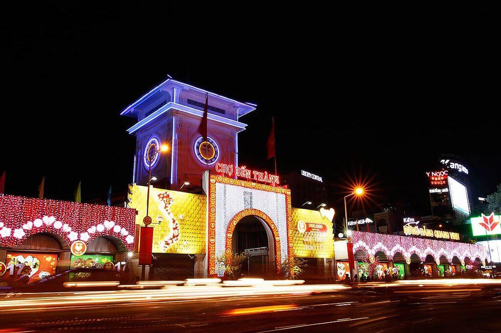 Velká tržiště Bến Thành Market