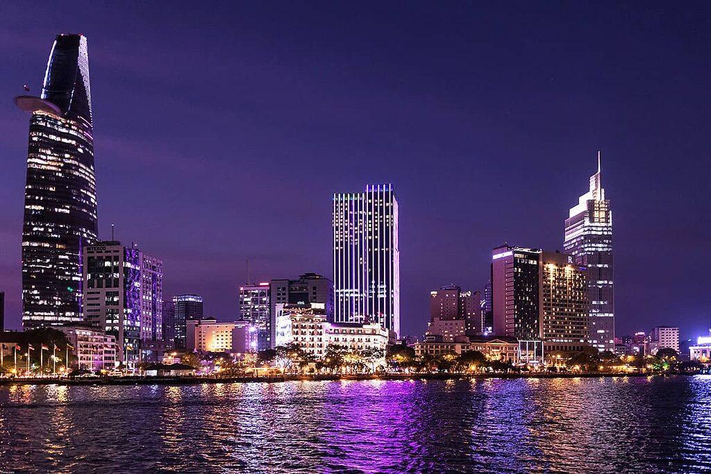 Moderní výstavba Ho Či Minova Města