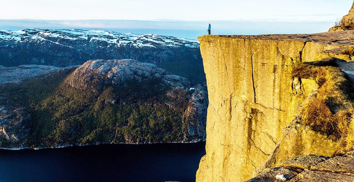 Vyhlídka Preikestolen Norsko