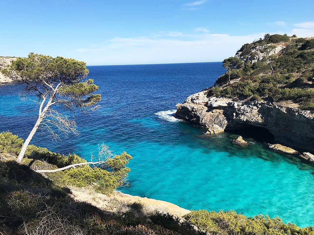 Mallorca a pláž Caló del Moro