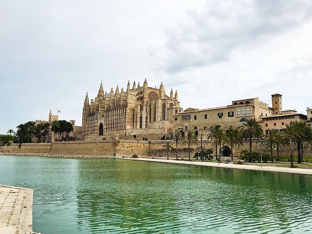 Katedrála La Seu v Pamla de Mallorca