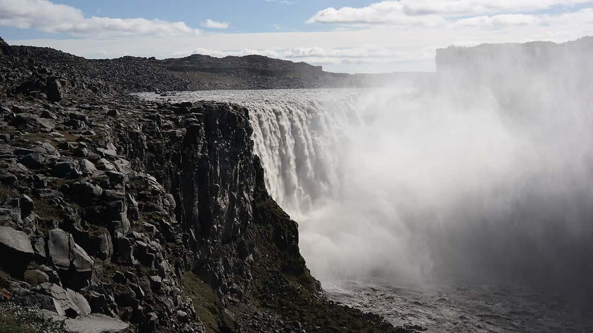 Dettifoss - 10 nej vodopádů Islandu