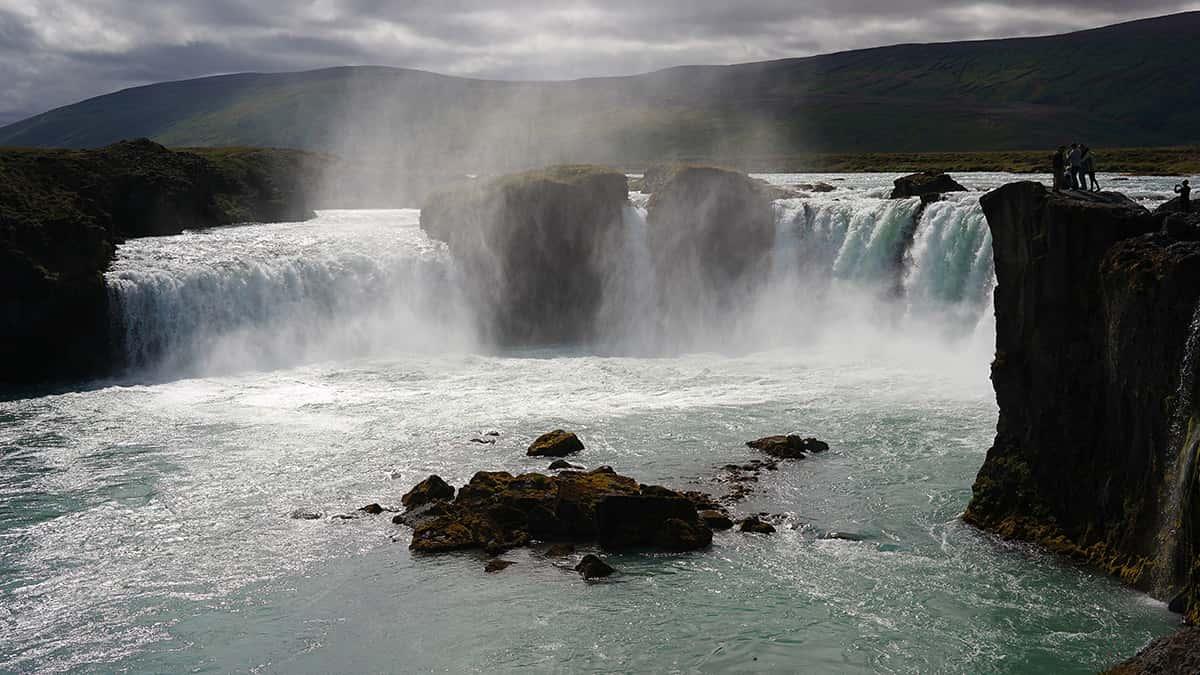 Godafoss - 10 nej vodopádů Islandu