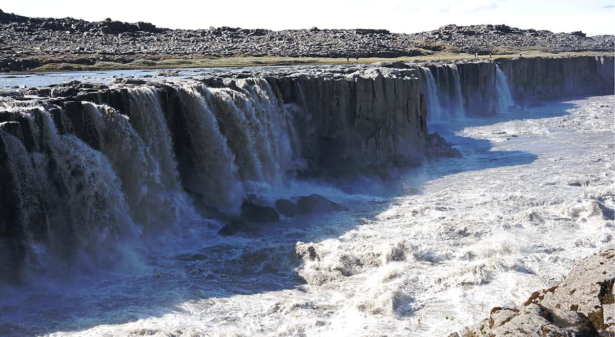 Selfoss - 10 nej vodopádů Islandu