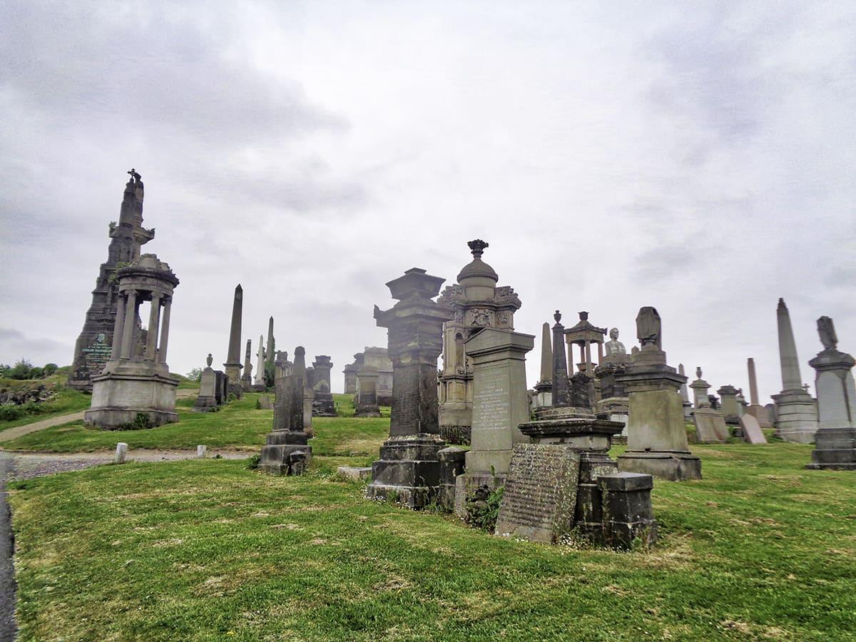 Hřbitov má zvláštní mysteriózní atmosféru
