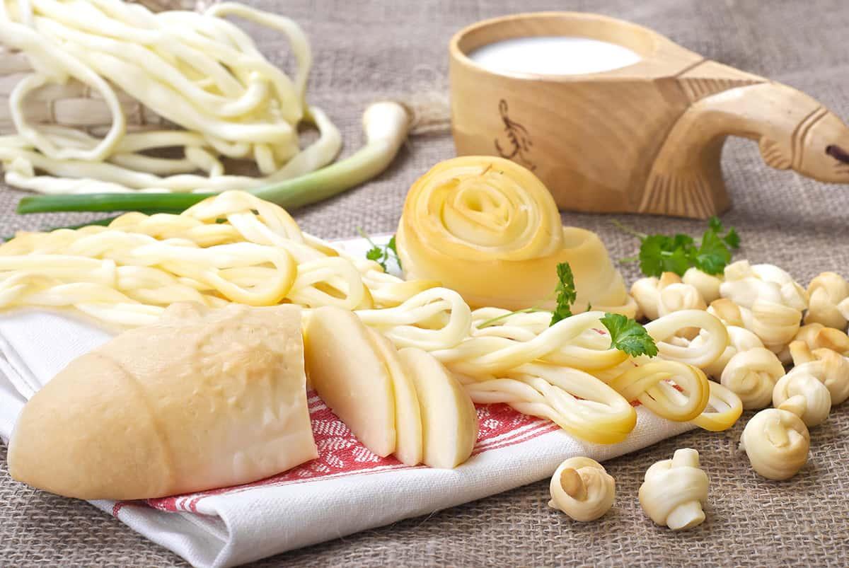 Tradiční slovenské sýry