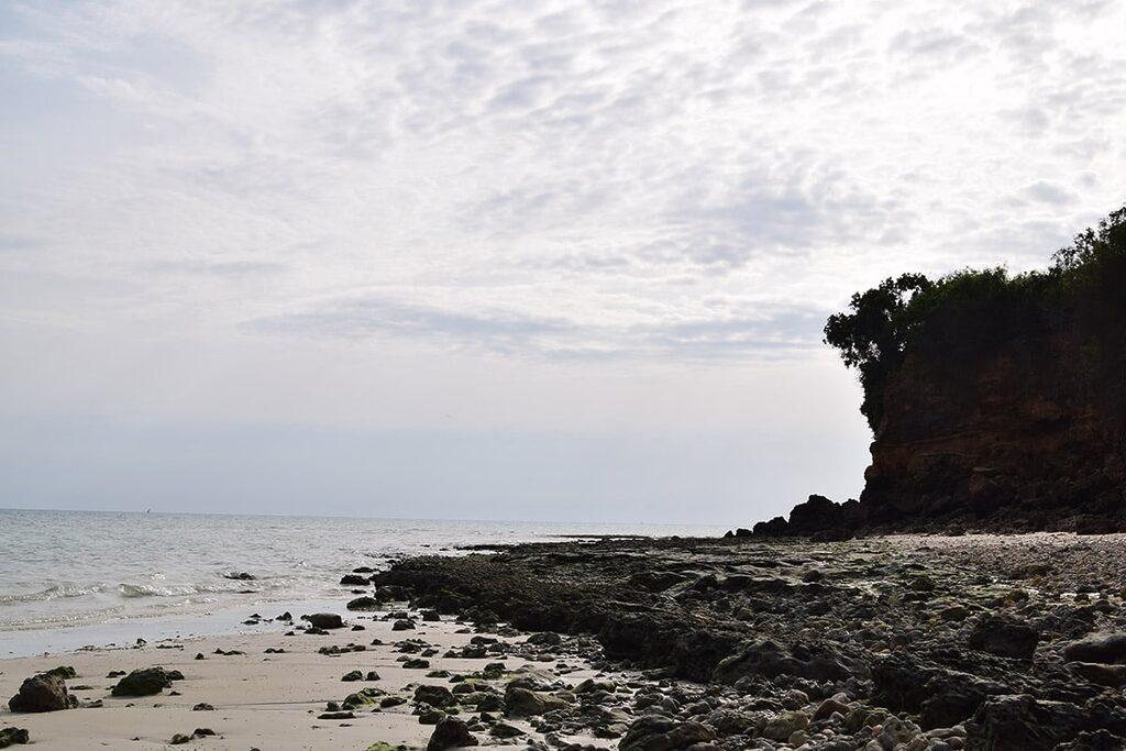 Odliv zapadní oblast Chukwani