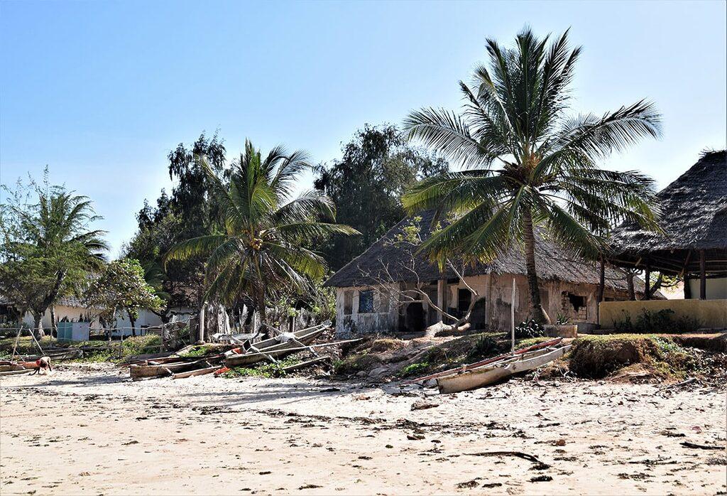 Ne příliš turistické Kizimkazi - hlavní pláž