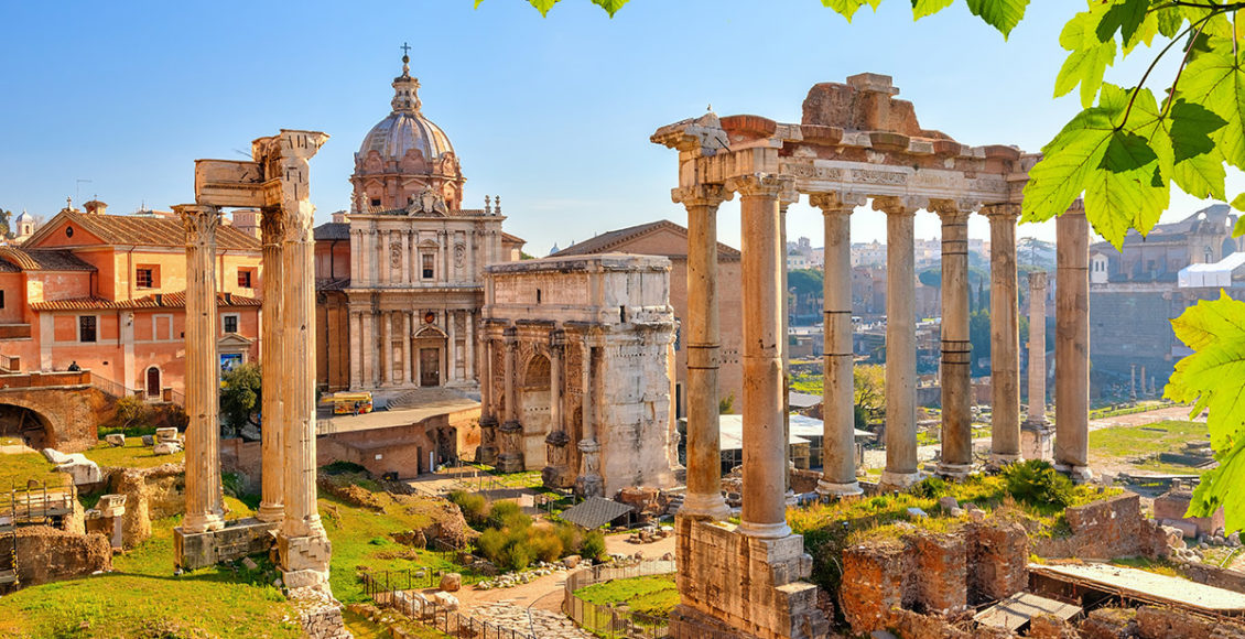 Řím Forum Romanum