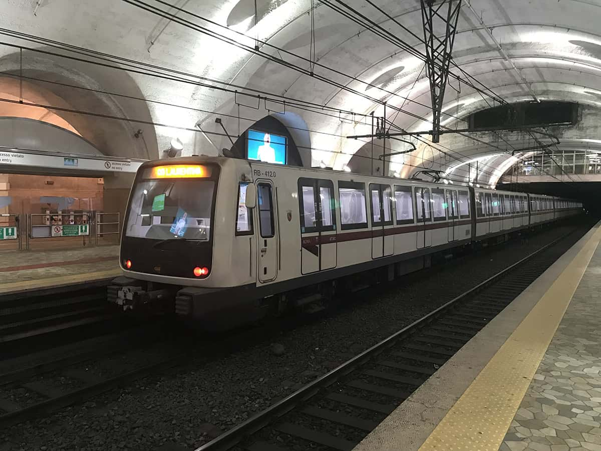 Přestupní stanice metra Termini