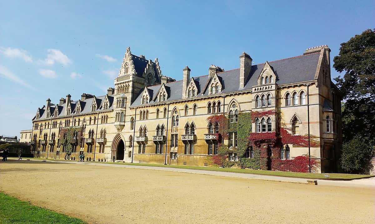 Nejznámější kolej v Oxfordu – Christ Church College
