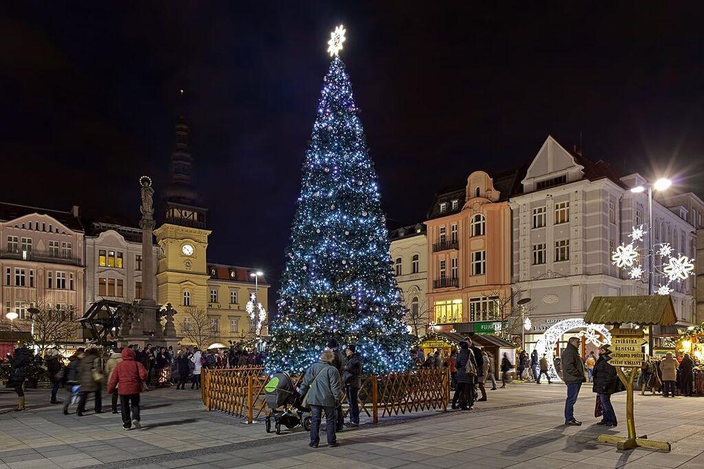 Vánoce v Ostravě na Masarykově náměstí