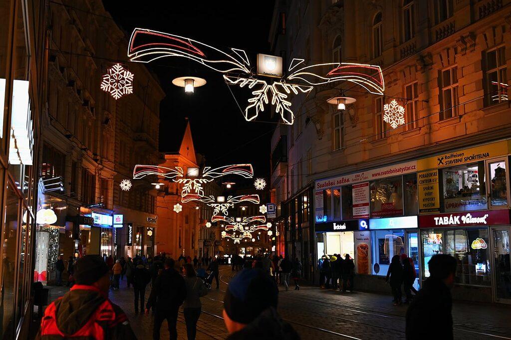 Brno vánoce v centru 2019