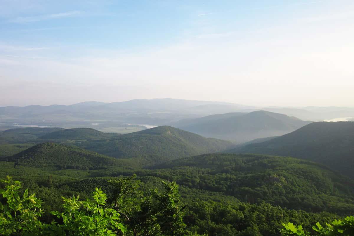 Maďarsko nabízí trekařům celkem nenáročný terén