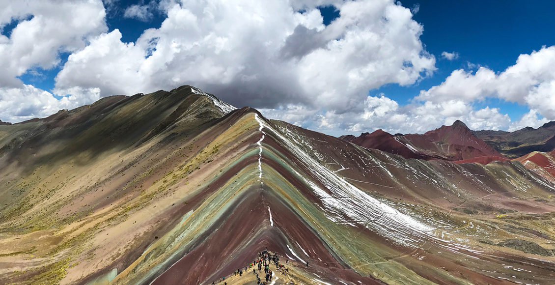 Rainbow Mountain, Duhová hora, Hora šesti barev nebo také Vinicunca