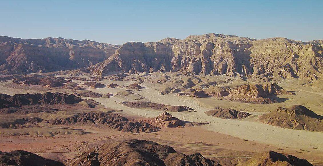Turistika v poušti Negev