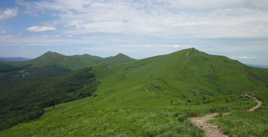 Główny Szlak Beskidzki - Bieszczady