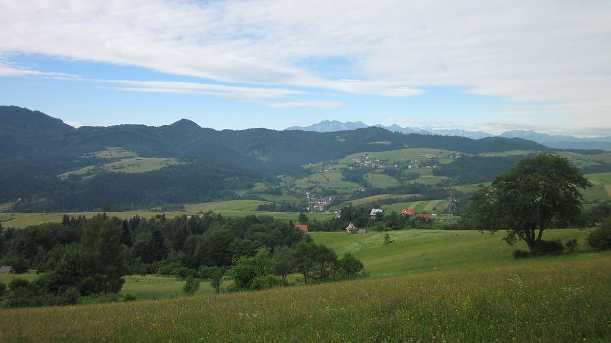 Vysoké Tatry v dálce