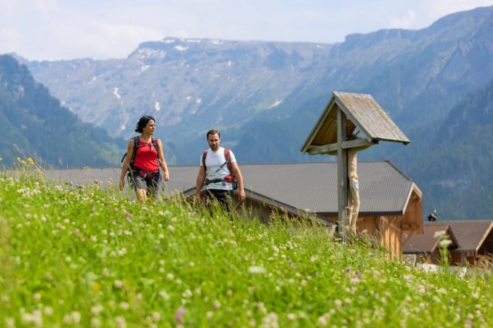 Roter Hahn - turisticky oblíbené Dolomity