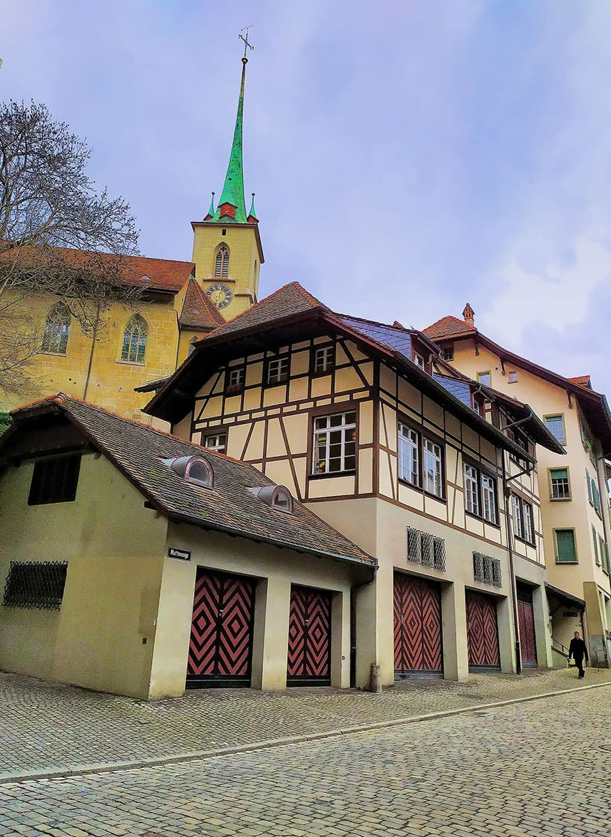 Uličky Bernu